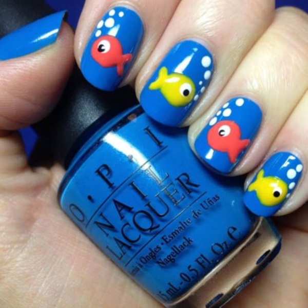 Clever Nail Designs Ideas for School Kids0061