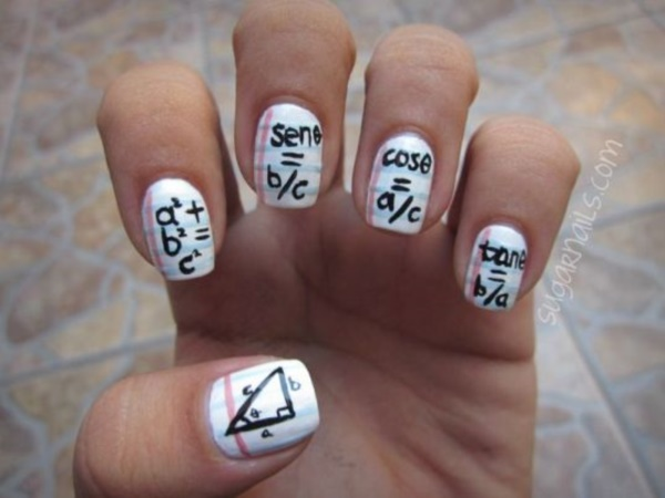 Clever Nail Designs Ideas for School Kids0081