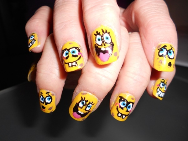 Clever Nail Designs Ideas for School Kids0101