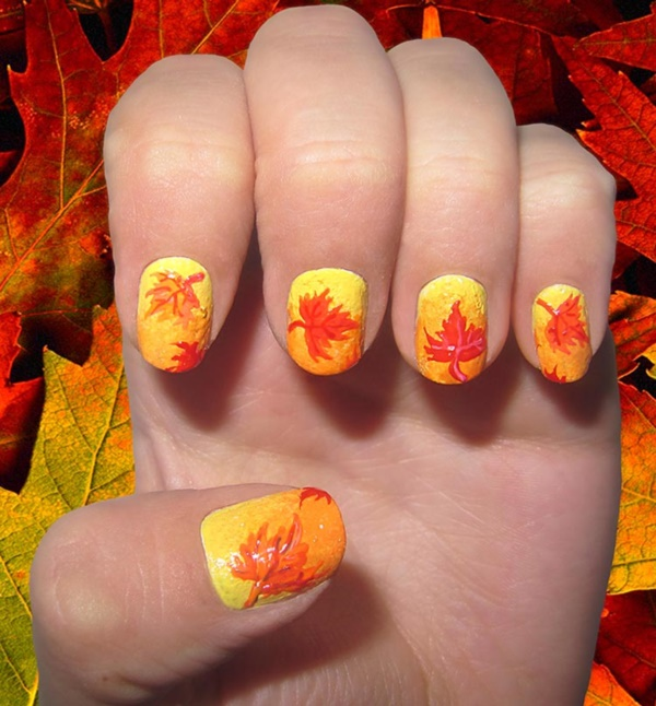 Clever Nail Designs Ideas for School Kids0131