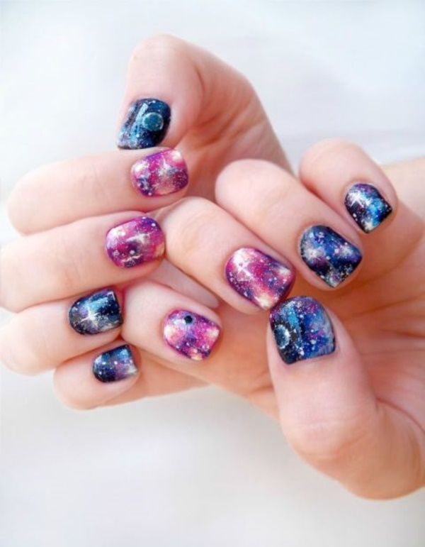 Clever Nail Designs Ideas for School Kids0171