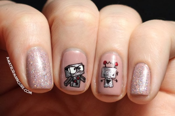 Clever Nail Designs Ideas for School Kids0201
