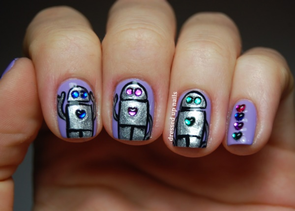 Clever Nail Designs Ideas for School Kids0271