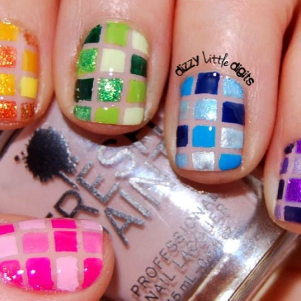 Clever Nail Designs Ideas for School Kids0301