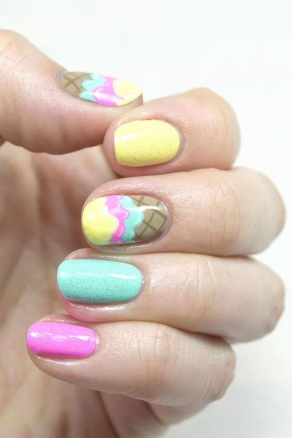 Clever Nail Designs Ideas for School Kids0321