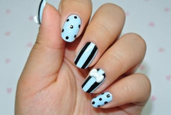 Clever Nail Designs Ideas for School Kids0351