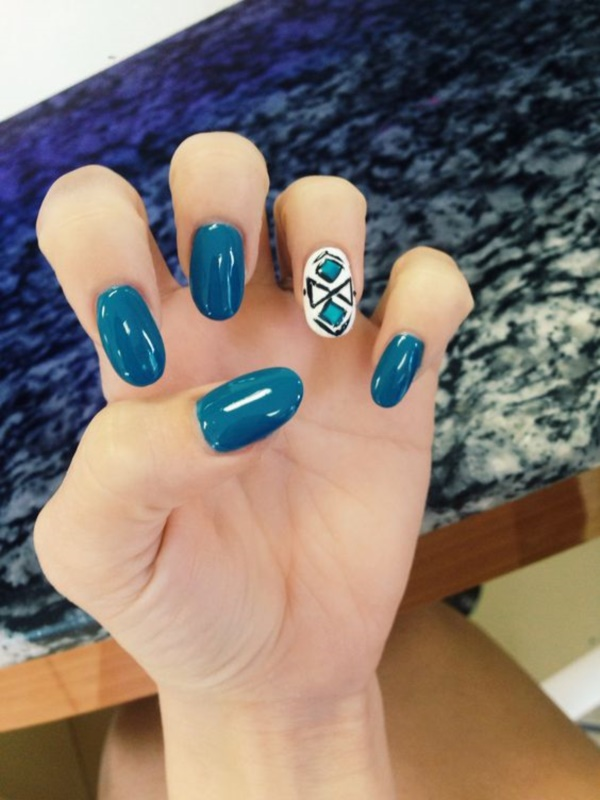 Clever Nail Designs Ideas for School Kids0371