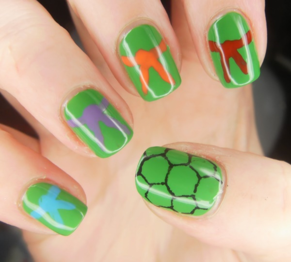 Clever Nail Designs Ideas for School Kids0391