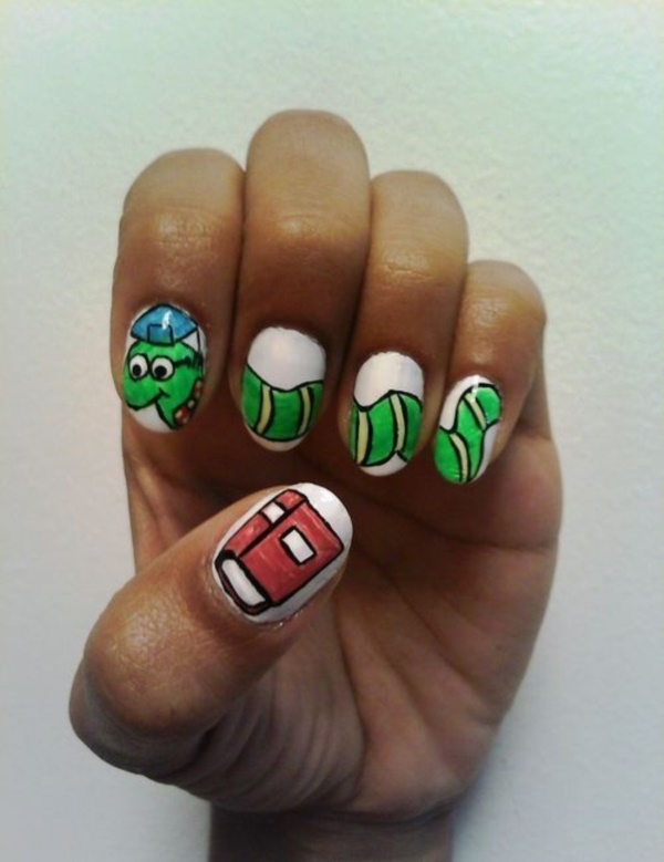 Clever Nail Designs Ideas for School Kids0401