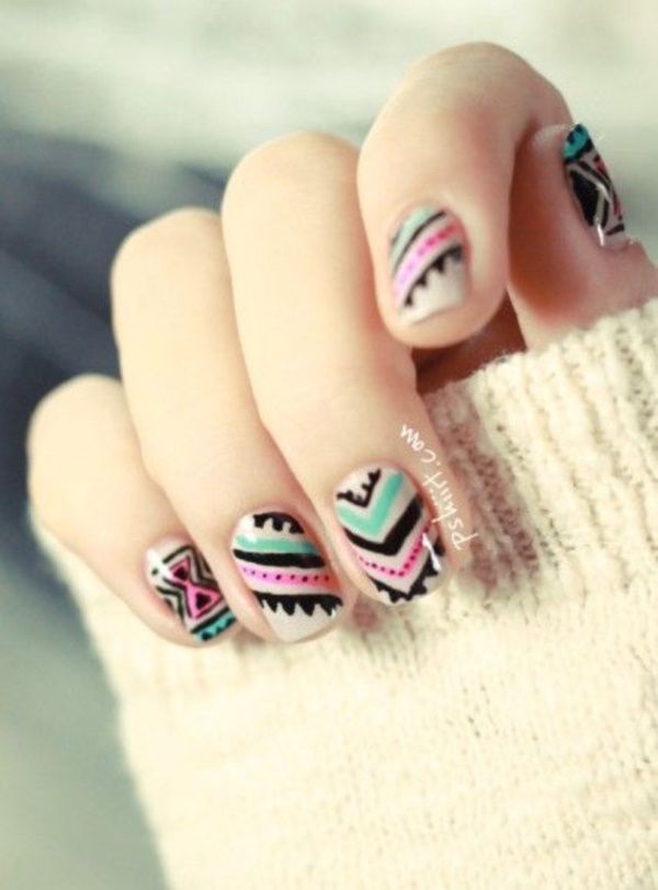 Clever Nail Designs Ideas for School Kids0421