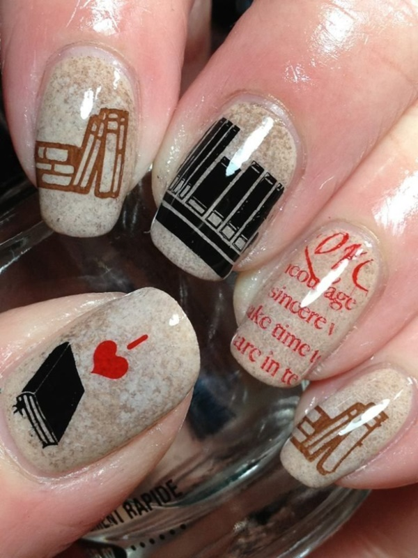 Clever Nail Designs Ideas for School Kids0441