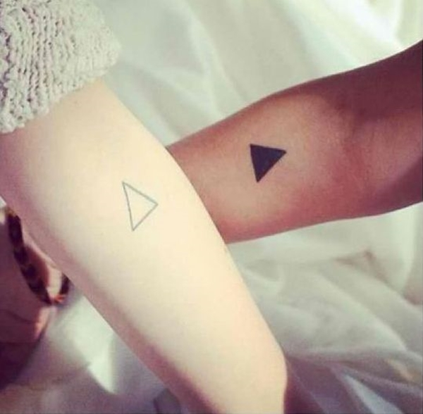 Cute Mr. and Mrs. Tattoos for Perfect Couples - 13