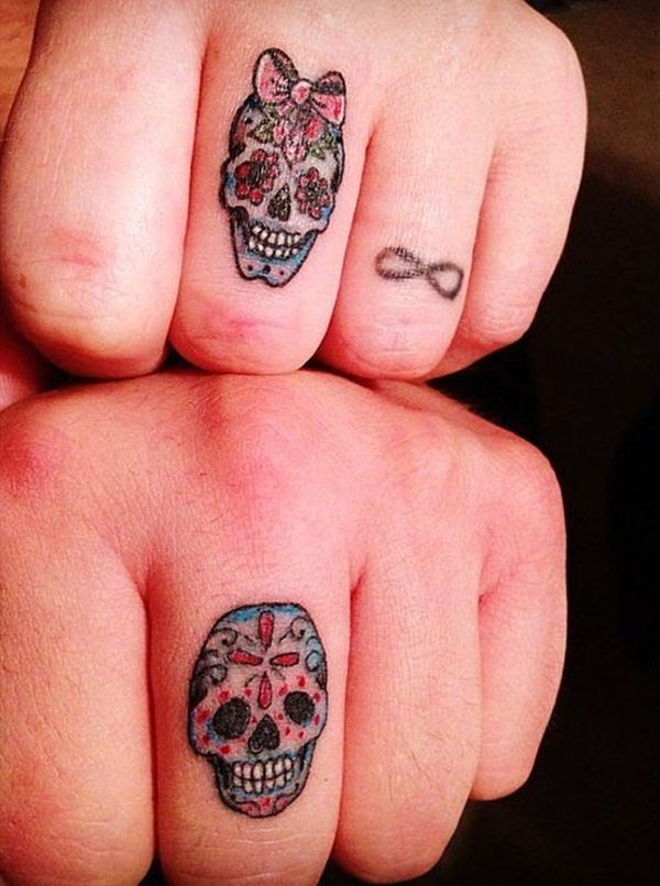 Cute Mr. and Mrs. Tattoos for Perfect Couples - 19