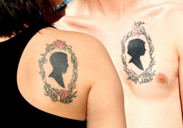 Cute Mr. and Mrs. Tattoos for Perfect Couples - 27