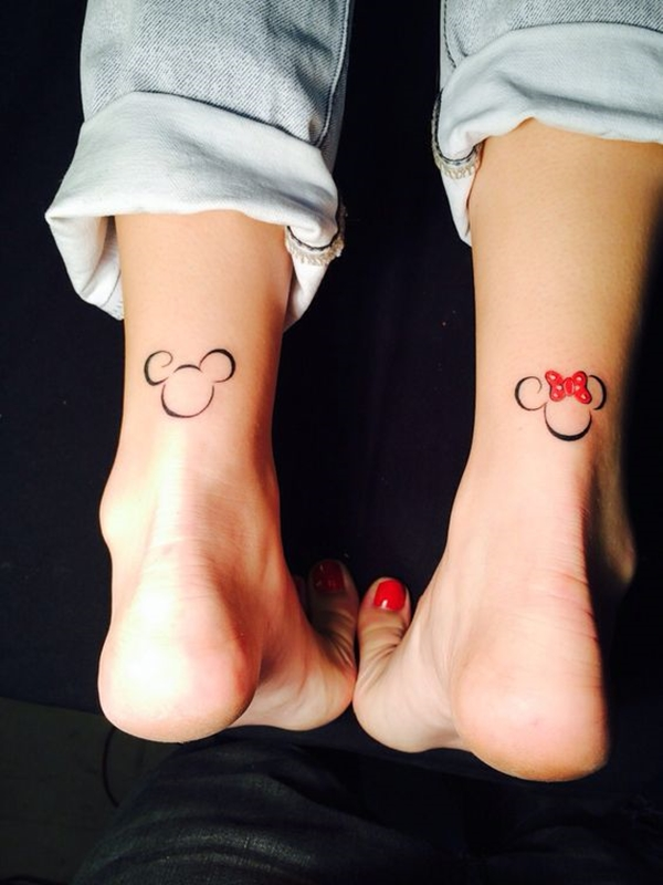 Cute Mr. and Mrs. Tattoos for Perfect Couples - 3