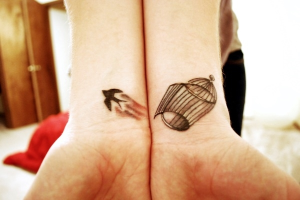 Cute Mr. and Mrs. Tattoos for Perfect Couples - 32