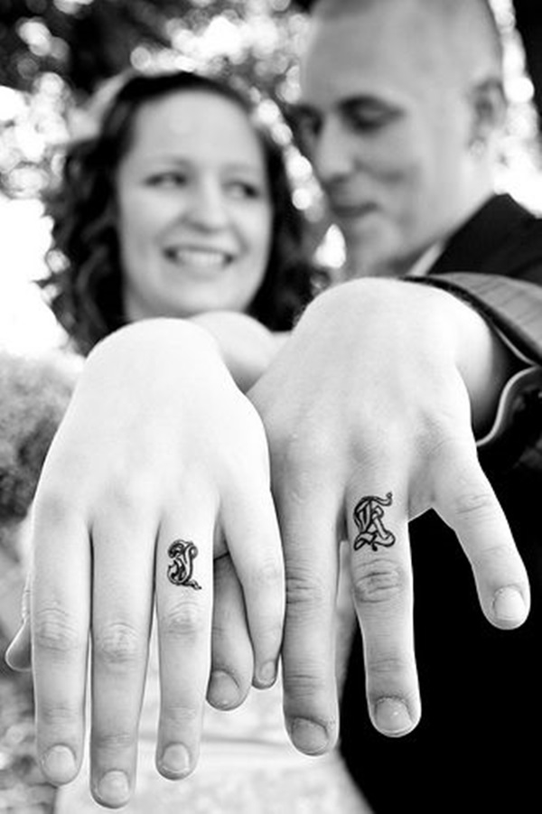 Cute Mr. and Mrs. Tattoos for Perfect Couples - 38
