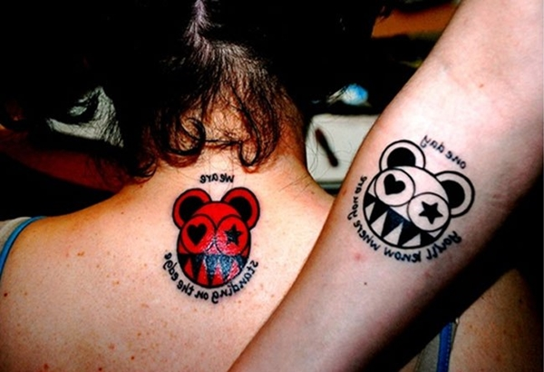 Cute Mr. and Mrs. Tattoos for Perfect Couples - 39