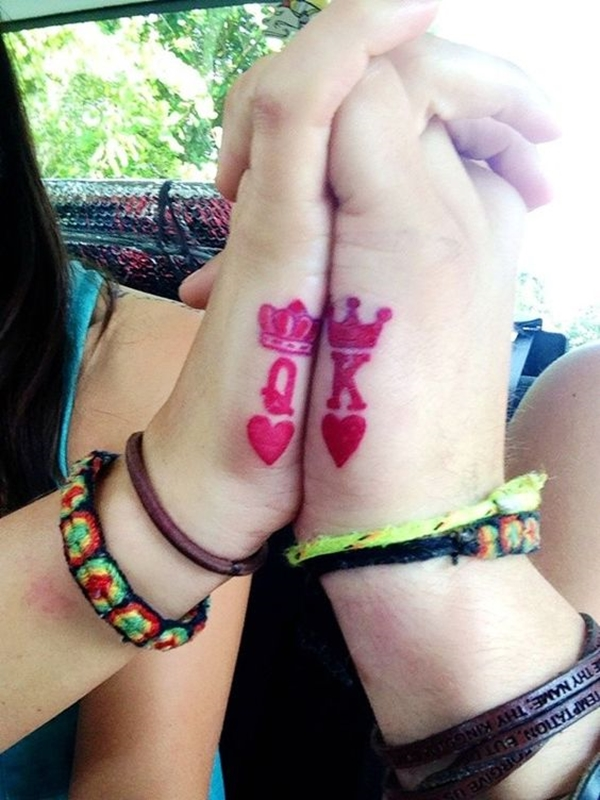 Cute Mr. and Mrs. Tattoos for Perfect Couples - 6