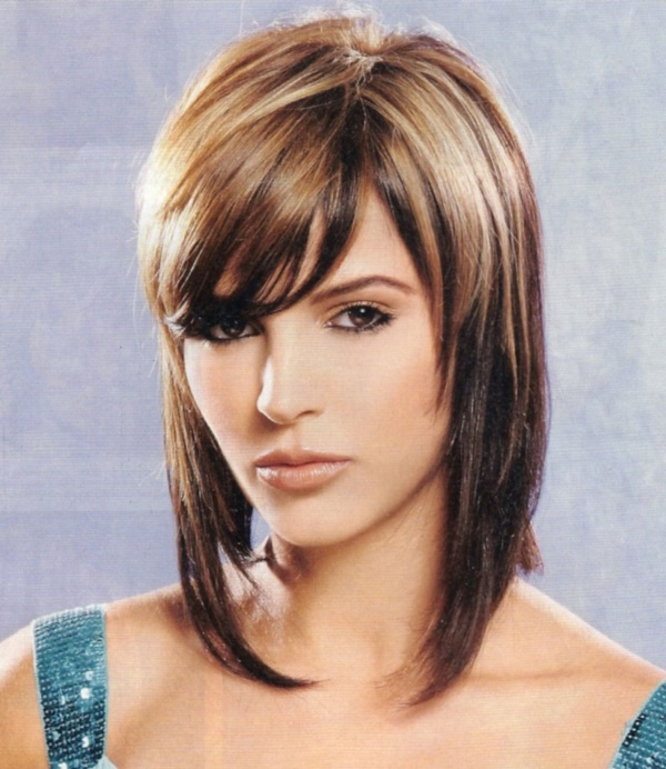 New Shoulder Length Hairstyles for Teen Girls - 20