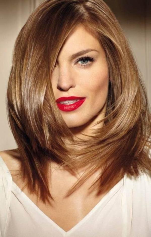 New Shoulder Length Hairstyles for Teen Girls - 23