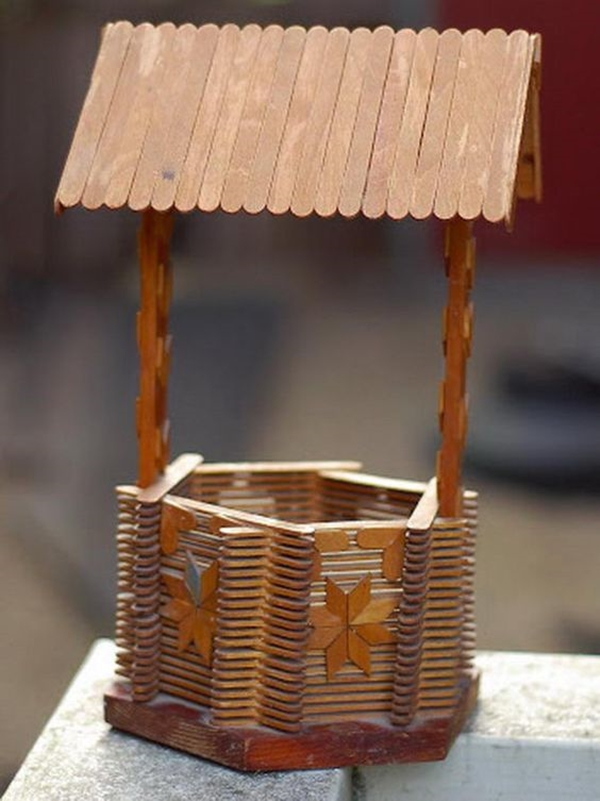 Amazing Popsicle Stick Crafts and Projects - (15)