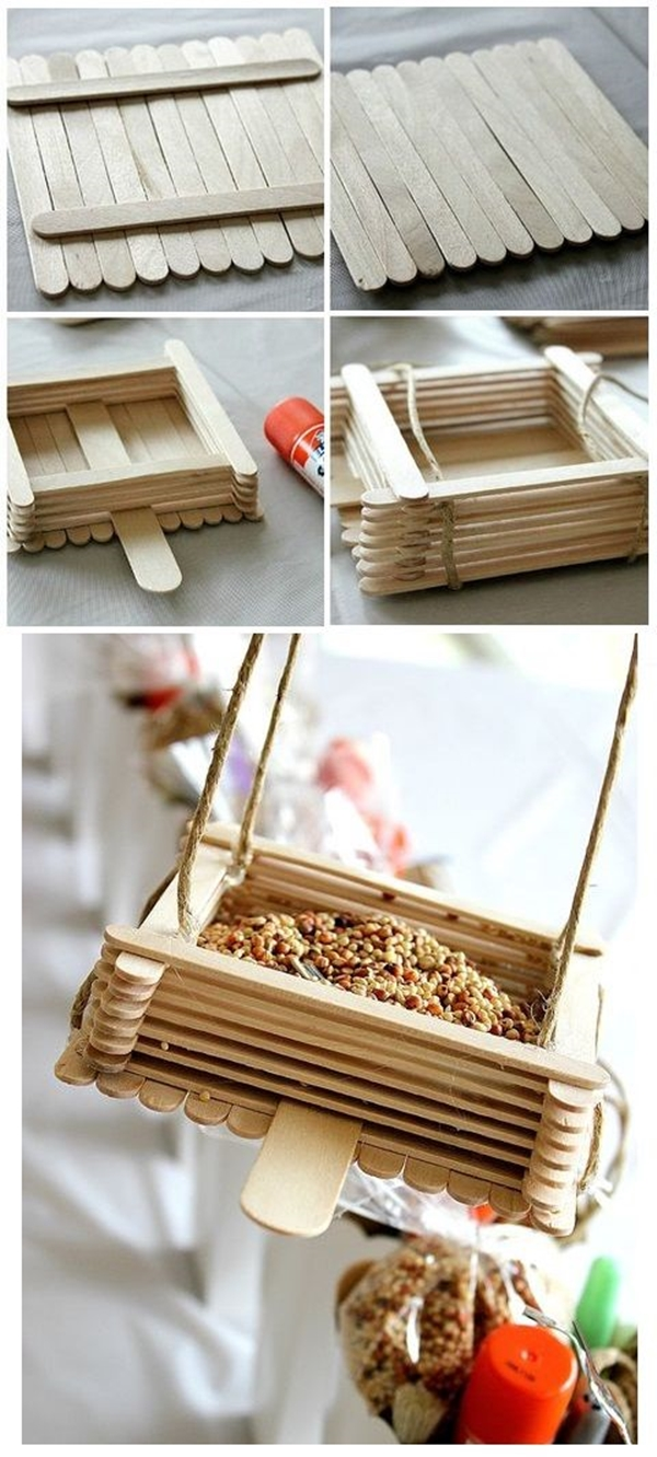 Amazing Popsicle Stick Crafts and Projects - (18)