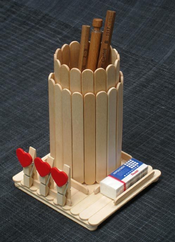 Amazing Popsicle Stick Crafts and Projects - (26)