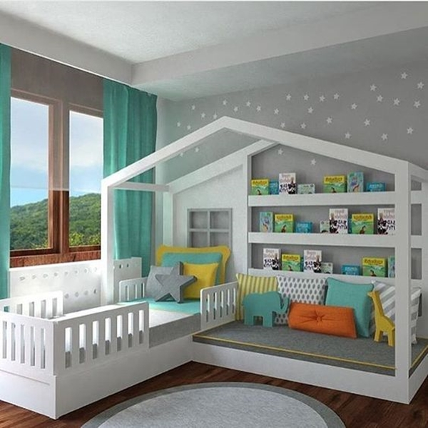 Cute and Safe Baby Bed Installations - (31)