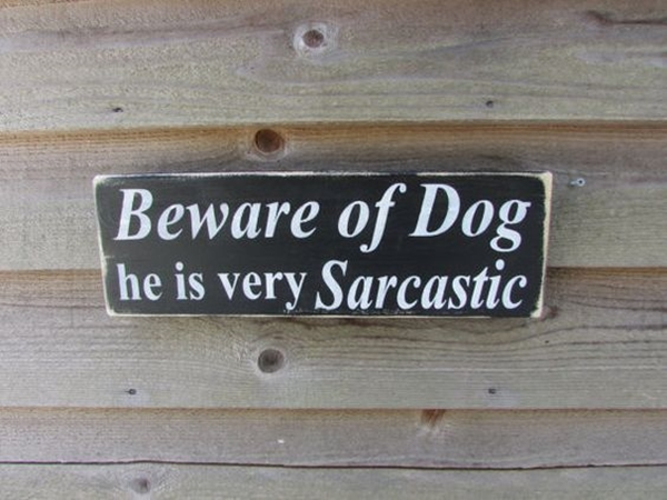 Funny Pet signs to Honor Your Four Legs Buddy - (2)