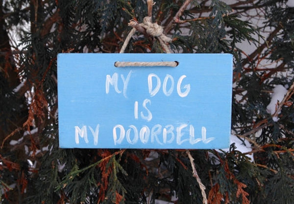 Funny Pet signs to Honor Your Four Legs Buddy - (33)