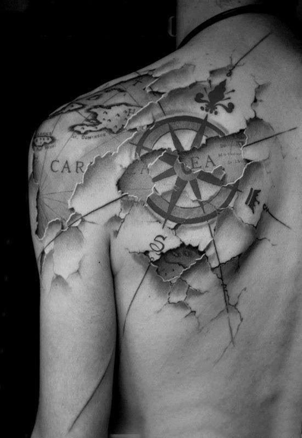 Oh-So Cool Blackout Tattoo Designs - Rise of a new Trend - 1 (10)