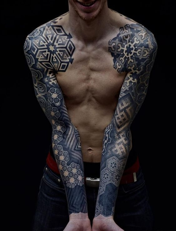 Oh-So Cool Blackout Tattoo Designs - Rise of a new Trend - 1 (16)
