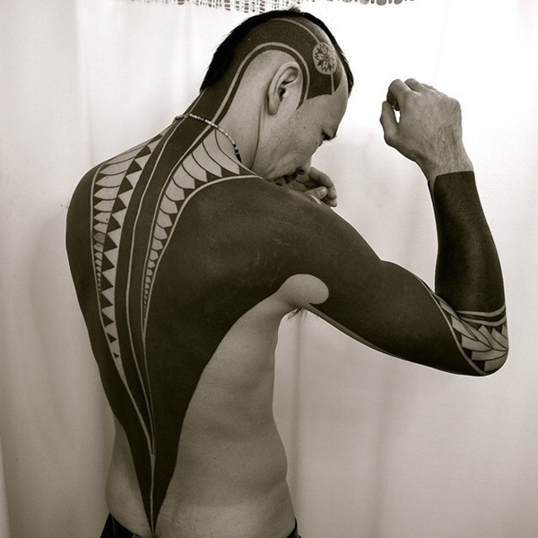 Oh-So Cool Blackout Tattoo Designs - Rise of a new Trend - 1 (21)