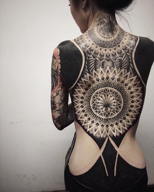 Oh-So Cool Blackout Tattoo Designs - Rise of a new Trend - 1 (22)