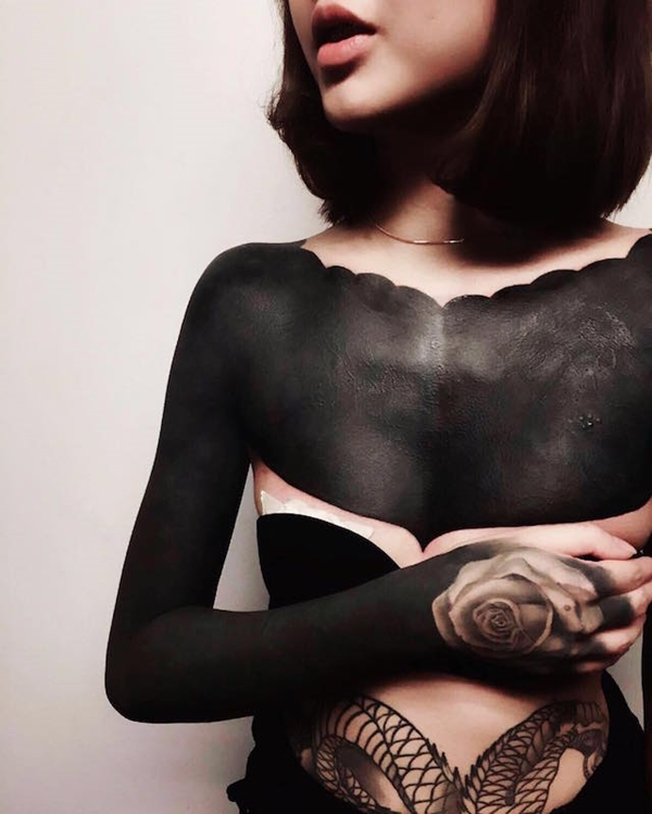 Oh-So Cool Blackout Tattoo Designs - Rise of a new Trend - 1 (23)