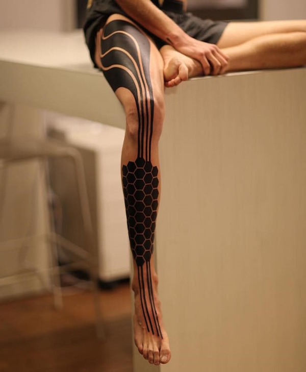 Oh-So Cool Blackout Tattoo Designs - Rise of a new Trend - 1 (24)