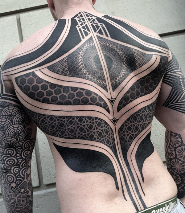 Oh-So Cool Blackout Tattoo Designs - Rise of a new Trend - 1 (33)