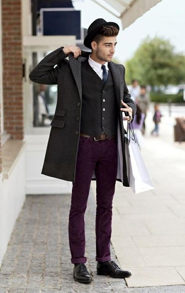 Old School Men's Suit Looks - 1