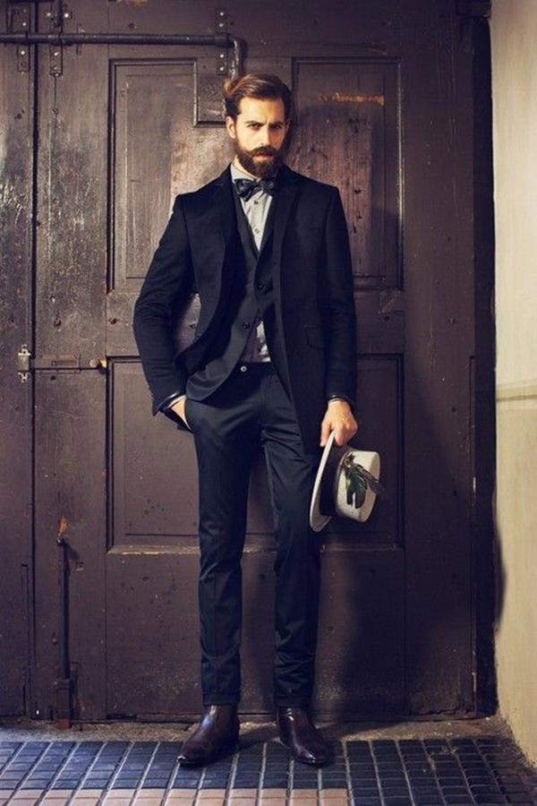 Old School Men's Suit Looks - 10