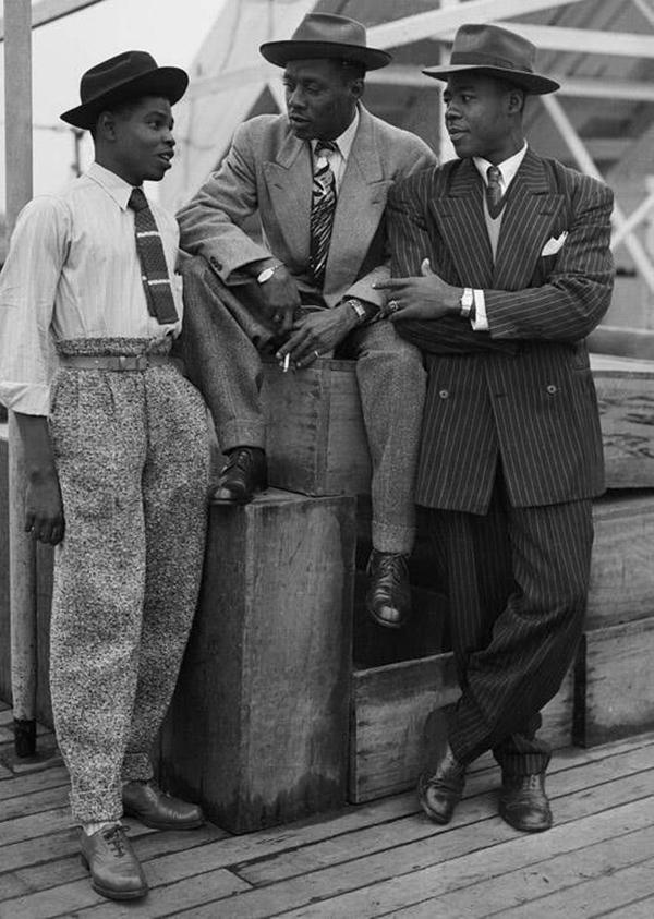Old School Men's Suit Looks - 15