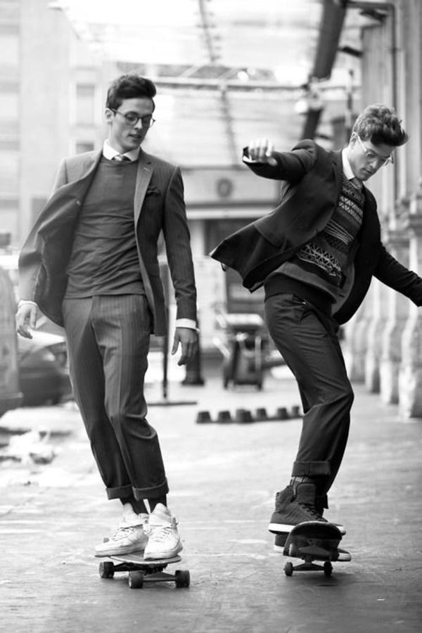 Old School Men's Suit Looks - 16