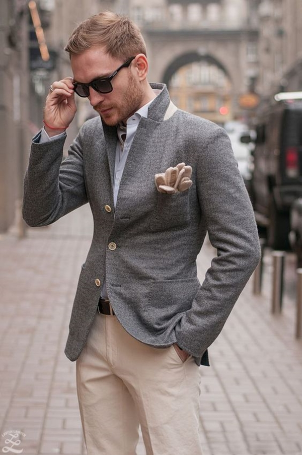 Old School Men's Suit Looks - 17