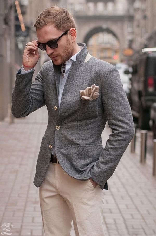 Old School Men's Suit Looks - 17