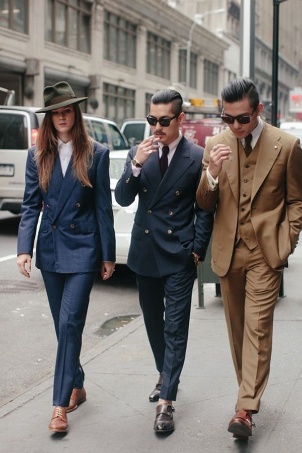 Old School Men's Suit Looks - 19