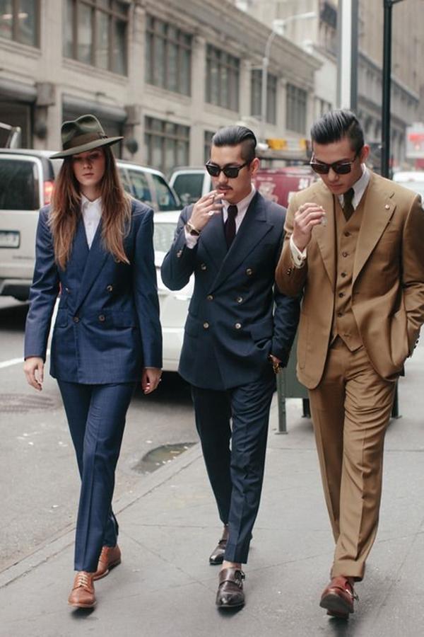 Old School Men's Suit Looks - 19