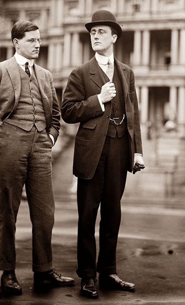 Old School Men's Suit Looks - 20
