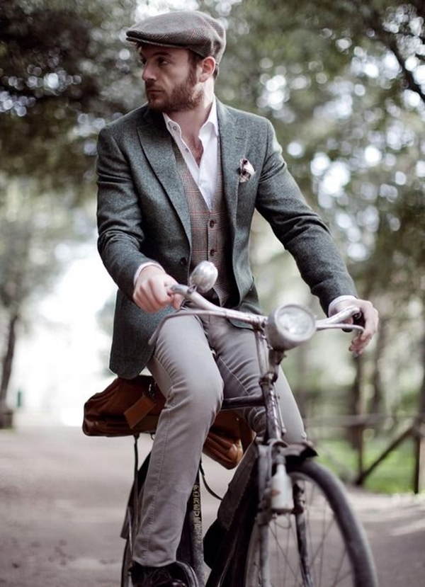 Old School Men's Suit Looks - 21