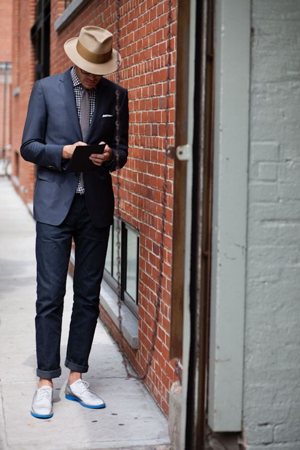 Old School Men's Suit Looks - 24
