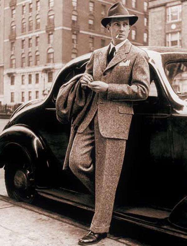 Old School Men's Suit Looks - 26
